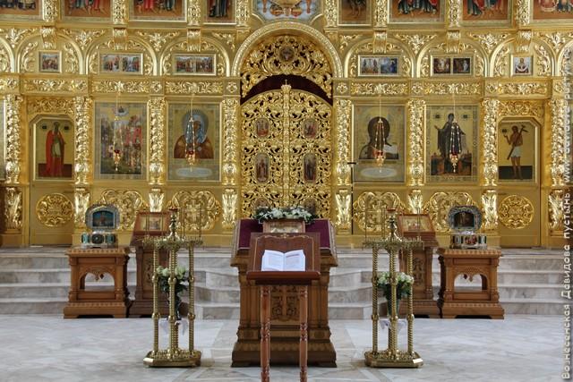 Спасский собор. Иконостас