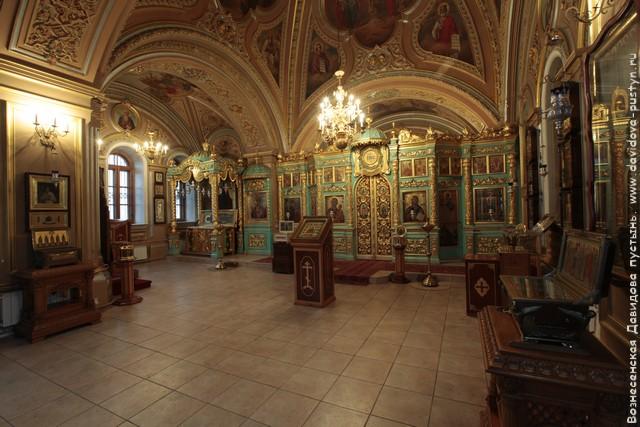Знаменский храм интерьер